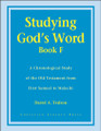 Studying God's Word Book F: I Samuel to Malachi