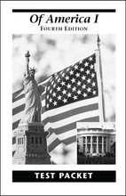 Of America I, 4th edition - Test Packet