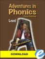 Adventures in Phonics: Level A, 3rd ed. - PDF Download