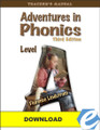 Adventures in Phonics: Level A, 3rd ed. Teacher's Manual - PDF Download