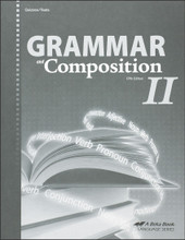 Grammar and Composition II, 5th edition - Quizzes/Tests