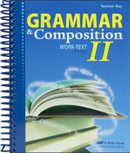 Grammar and Composition II, 5th edition - Teacher Key