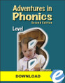 Adventures in Phonics: Level B, 2nd ed. - PDF Download