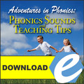 Phonics Sounds and Teaching Tips - MP3 Download
