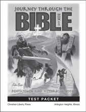 Journey Through the Bible: Book 1 - Pentateuch and Historical Books - Test Packet