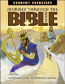Journey Through the Bible: Book 2 - Wisdom and Prophetic Books - Student Exercises Workbook