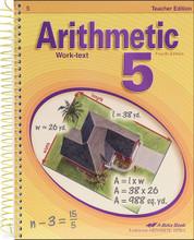 Arithmetic 5, 4th edition - Teacher Edition