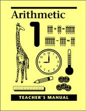 Arithmetic 1 - Teacher's Manual