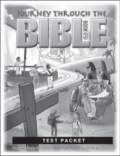 Journey Through the Bible: Book 3 - New Testament - Test Packet