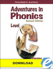 Adventures in Phonics: Level C, 2nd ed. Teacher's Manual - PDF Download