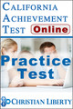 California Achievement Test - Practice Test (Online)