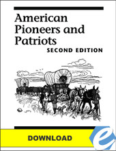 American Pioneers and Patriots, 2nd ed. Test Packet - PDF Download