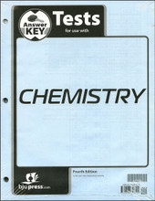 Chemistry, 4th ed. Test Answer Key