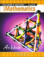 MCP Mathematics: Level E Teacher's Guide, 2005 edition