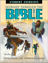 Journey Through the Bible: Book 1 - Pentateuch and Historical Books, 2nd edition - Student Exercises Workbook
