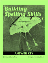 Building Spelling Skills: Book 1, 2nd edition - Answer Key