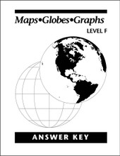 Maps Globes Graphs: Level F - Answer Key