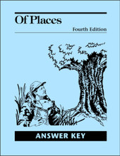 Of Places Literature, 4th edition - Answer Key