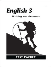 English 3: Writing and Grammar, 2nd edition - Test Packet
