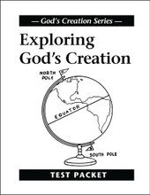 Exploring God's Creation - Test Packet