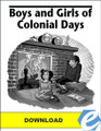 Boys and Girls of Colonial Days Test Packet - PDF Download