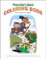 Pinocchio's Quest - Coloring Book
