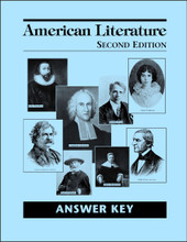 American Literature, 2nd edition - Answer Key