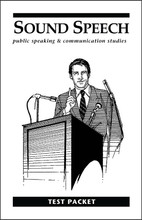 Sound Speech: Public Speaking & Communication Studies - Test Packet