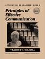 Applications of Grammar Book 4 - Teacher's Manual