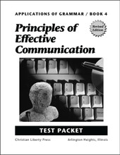 Applications of Grammar Book 4: Principles of Effective Communication - Test Packet
