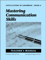 Applications of Grammar Book 6: Mastering Communication Skills - Teacher's Manual