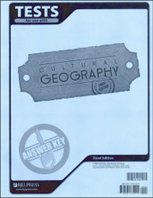Cultural Geography, 3rd edition - Tests Answer Key