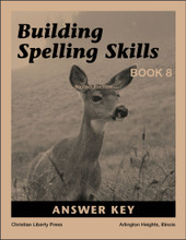 Building Spelling Skills Book 8 Answer Key, 2nd edition