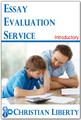 Essay Evaluation Service - Introductory