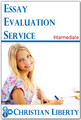 Essay Evaluation Service - Intermediate