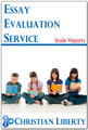 Essay Evaluation Service - Book Reports