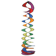 Rainbow Curlie Duet Wind Spinner