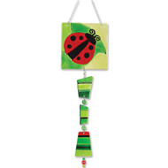 Glass Sun Catchers (Ladybug)