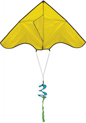 Yellow Delta Kite