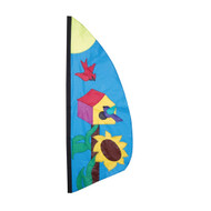 8.5 Ft. Birdhouse Feather Banner