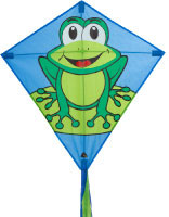 Eddy Funny Frog Diamond Kite