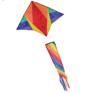 Gyro Delta with Spin Sock (Rainbow)