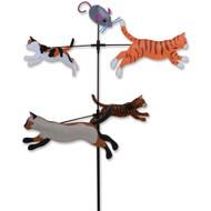 Lawn Spinner  (Carousel Spinner - Cats)