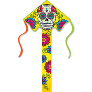 Large Easy Flyer Kite (Sugar Skull)