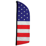 Feather Banner (16 ft. Patriotic)