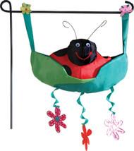 Garden Charms - Smiley Ladybug