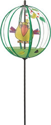 Glass Ball Birdie on a Stick
