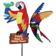 "Lawn Spinner - Party 37"" Island Parrot Spinner"