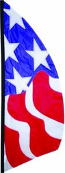 8.5 ft. Feather Banner ( Patriotic)