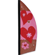 8.5' Valentine's Day Feather Banner